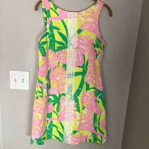LILLY PULITZER TARGET Flamingo Tropical Dress Lace